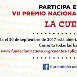 VII Premio Nacional de Cuento La Cueva 2017