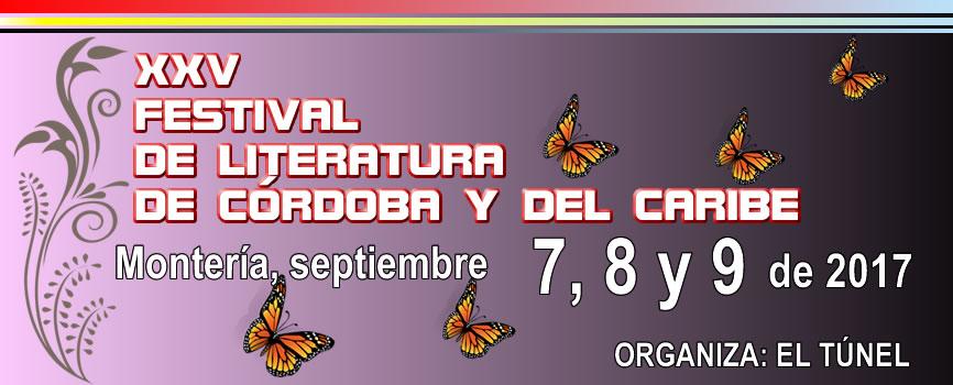XXV Festival de Literatura de Córdoba y del Caribe