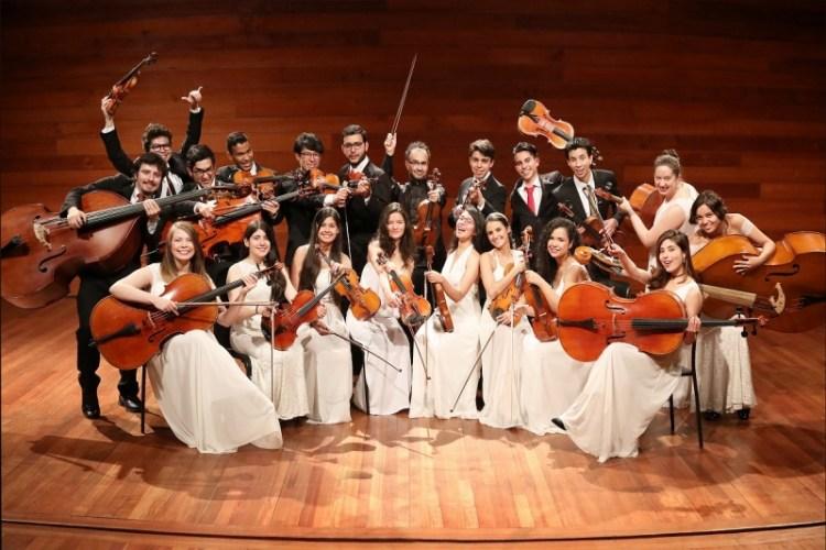 Orquesta Filarmónica Juvenil de Cámara en concierto