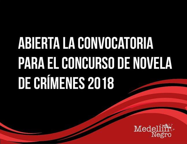 Abierta la convocatoria para el concurso de novela de crímenes 2018