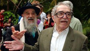 Gabriel García Márquez y Birri, fundadores de la escuela de cine de San Antonio de los Baños, Cuba.