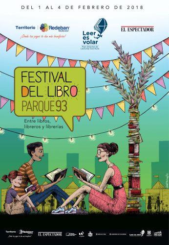 Festival del Libro Parque 93 reunirá a escritores, artistas y libreros en Bogotá