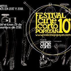 Convocatoria Festival de Cine Corto de Popayán 2018
