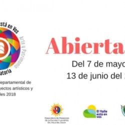Convocatoria de Estímulos a Proyectos Artísticos y Culturales Departamentales VALLE DEL CAUCA