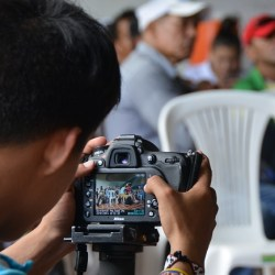 Luces, cámaras y acciones por la paz