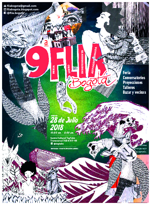 Convocatoria 9ª Flia Bogotá - Feria del Libro Independiente y Autogestiva
