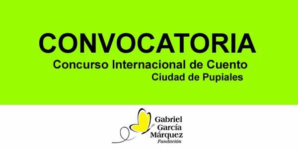 """XIII Concurso Internacional de Cuento """"Ciudad de Pupiales"""" 2018"""
