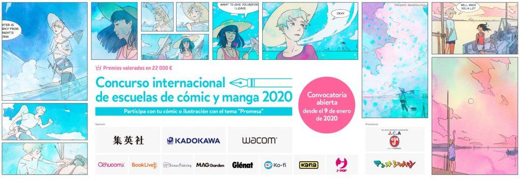 Concurso internacional de escuelas de cómic y manga 2020