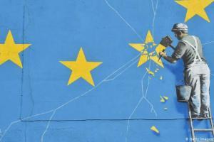 Desaparece el famoso mural de Banksy sobre el brexit en Dover