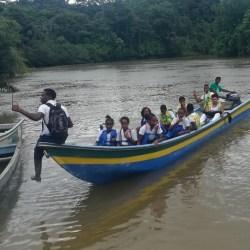 Cuentos de paz escritos por niños y niñas en Chocó