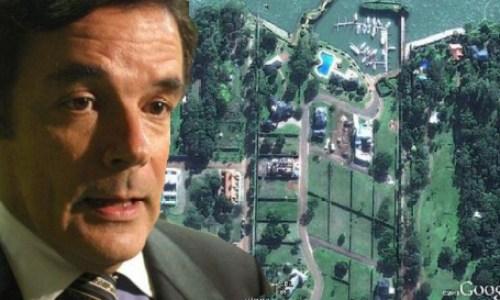 La fastuosa casa del ex gobernador Carlos Rovira