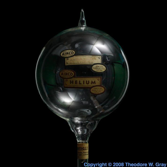 Helium Antique reagent flask