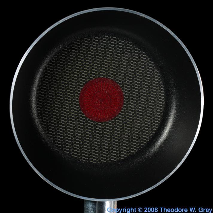 Fluorine Teflon coated frying pan