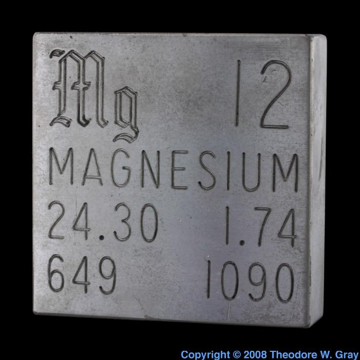 Magnesium Engraved plate