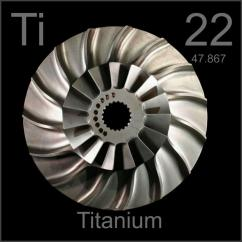 Jet Engine Parts Diagram Free Electrical Wiring Software Blisk Bladed Impeller Disk, A Sample Of The Element Titanium In Periodic Table