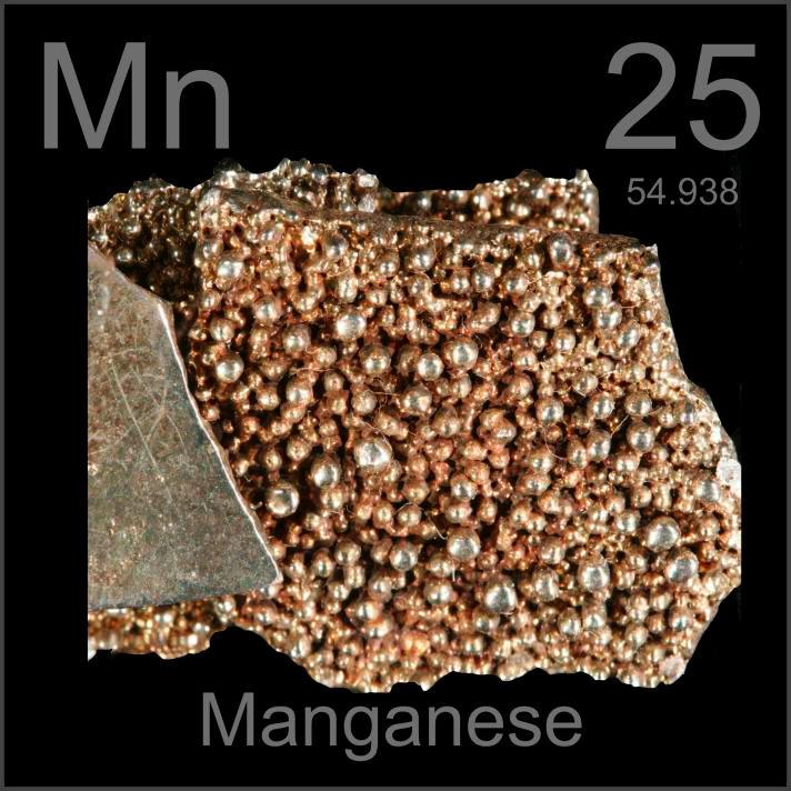 Manganese Museum-grade sample