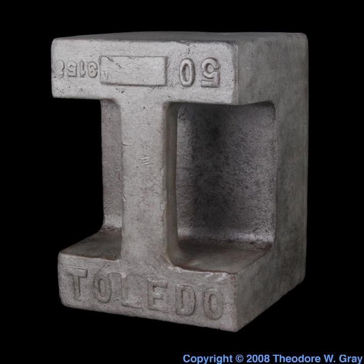Iron 50 pound weight