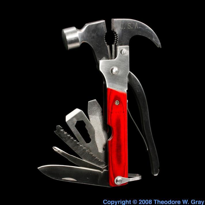Iron Swiss army hammer