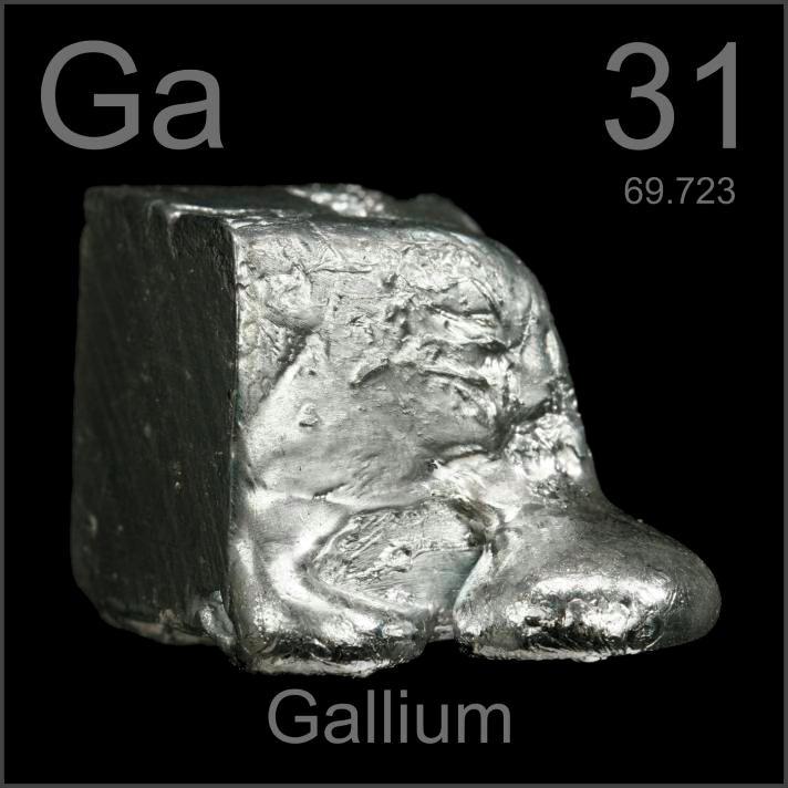 Gallium Dali cube