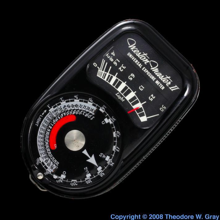 Selenium Old light meter