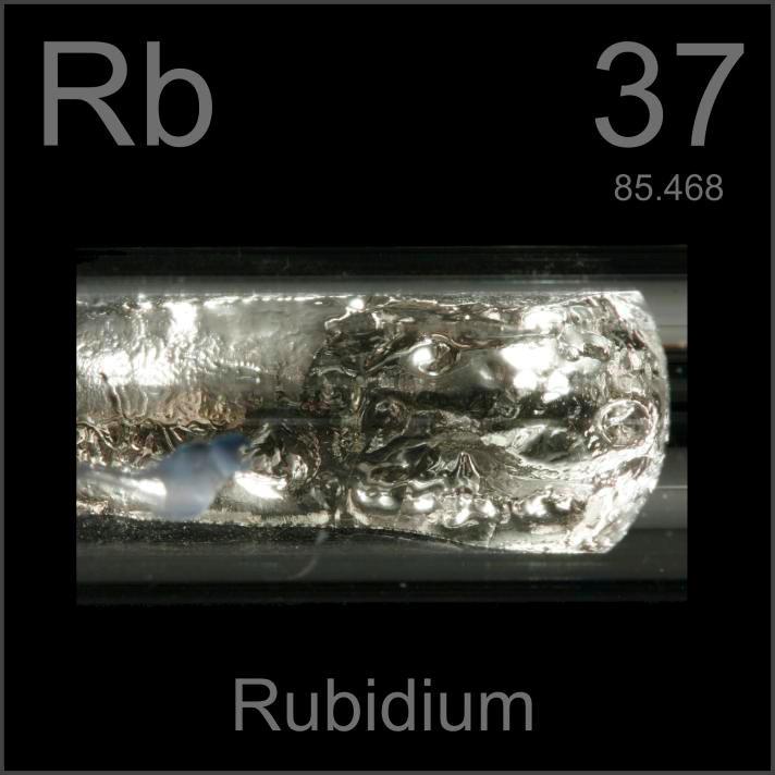 Rubidium Ampule