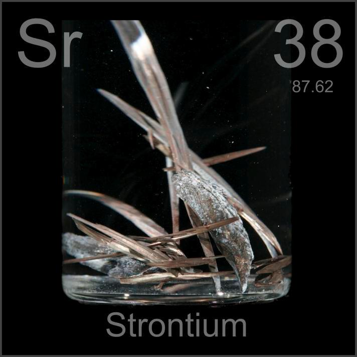Strontium Dendritic crystal