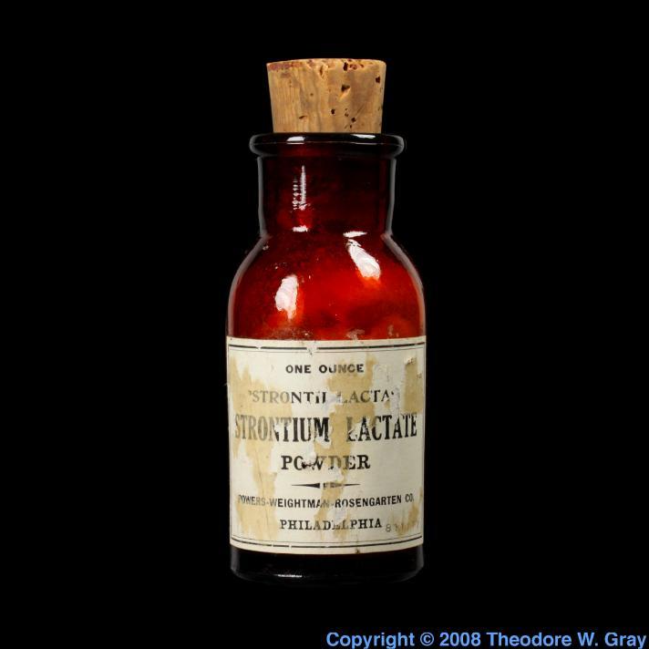 Strontium Strontium lactate
