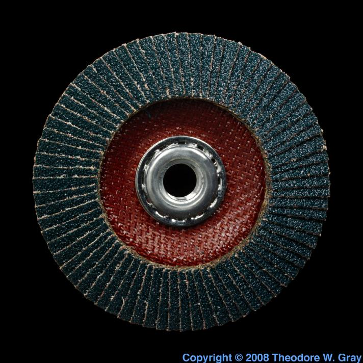 Zirconium Zirconium oxide flap disk