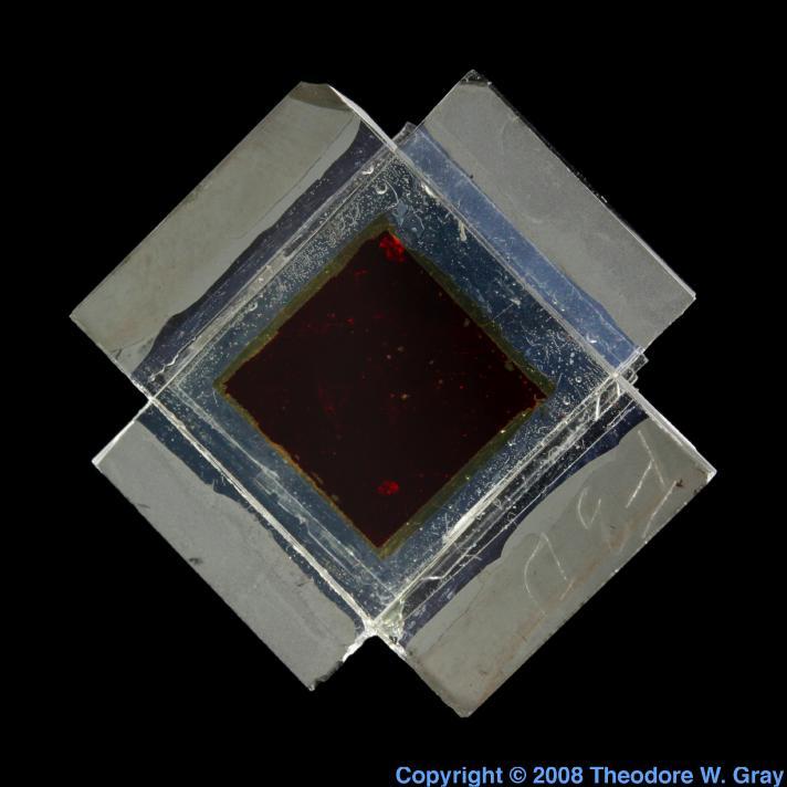 Ruthenium Experimental solar cell