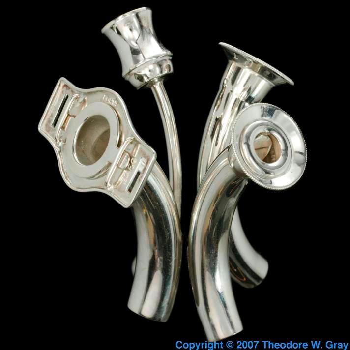 Silver Silver tracheostomy tube