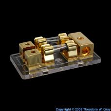 Gold Gold-plated fuse box