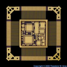 Gold Gold-plated chip mount
