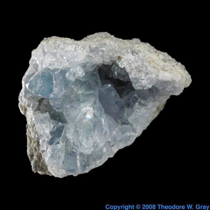 Strontium Celestine from Jensan Set