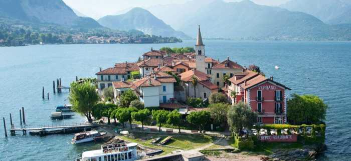 Isola dei Pescatori: Ένα γραφικό νησί με 35 κατοίκους!