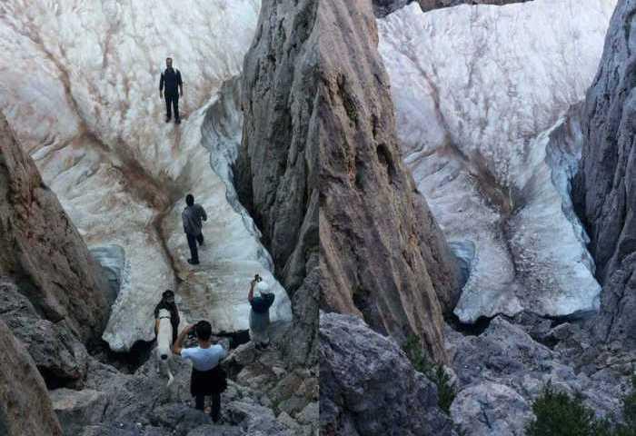 Tο μέρος στην Κρήτη που έχει πάντα χιόνι