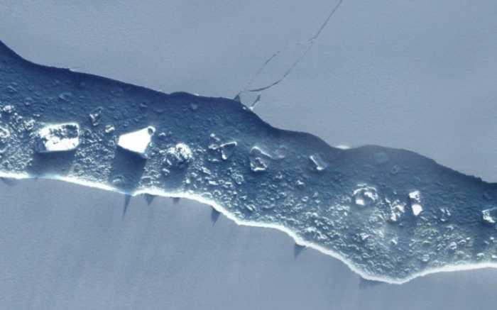Παγόβουνο στο μέγεθος της Κύπρου αποκολλήθηκε από την Ανταρκτική!