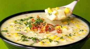 Σούπα λαχανικών αυγολέμονο