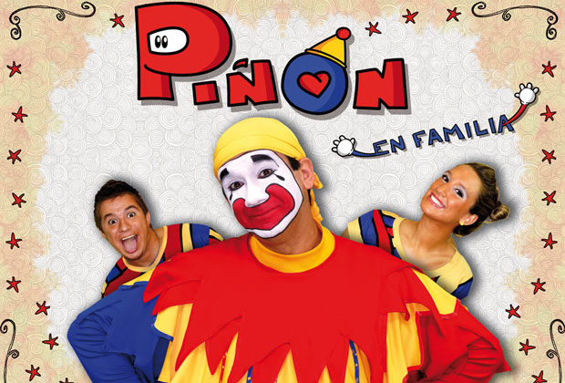 """10- El payaso Piñón Fijo vuelve con su espectáculo """"Piñón en familia"""", en el Teatro Lola Membrives. De Martes a Viernes a las 14.30 hs. y sábados  y domingos, 14.30 y 16.30 hs. Entradas desde 150 pesos."""