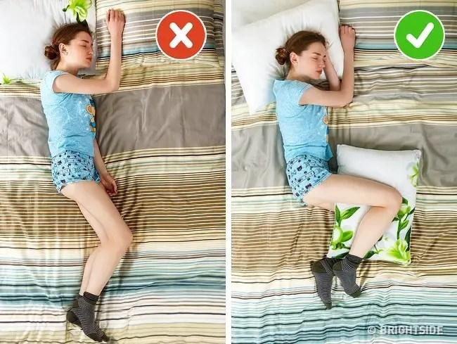 Mejores posiciones para dormir para la presión arterial alta