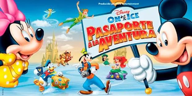 """30- """"Disney on Ice, Pasaporte a la Aventura"""" se presentará del 18 de julio al 1 de agosto en el Luna Park, con más de una función diaria y entradas desde 100 pesos."""