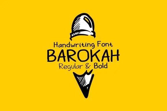 Barokah-–-Free-handwriting-font
