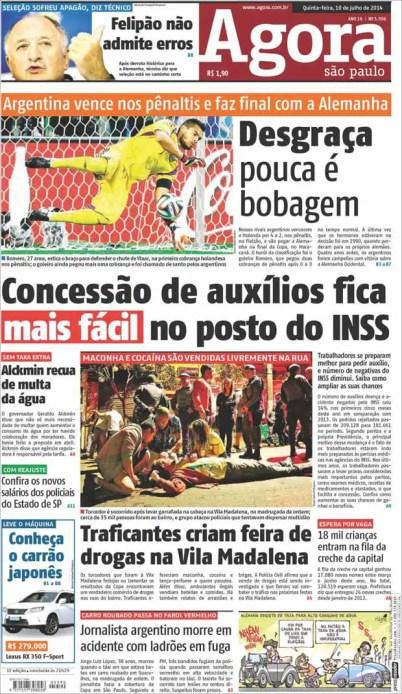 Tapa de Agora de Sao Paulo