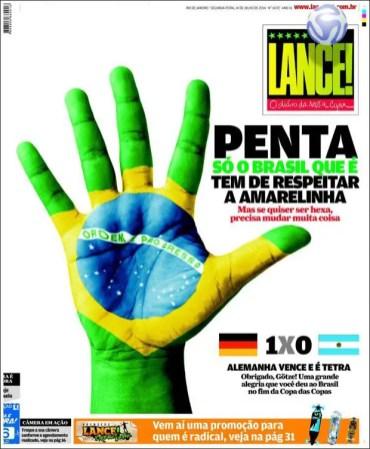 """""""Penta es sólo Brasil, al que se debe respetar, aunque si quiere ser hexacampeón tiene que cambiar mucho"""""""