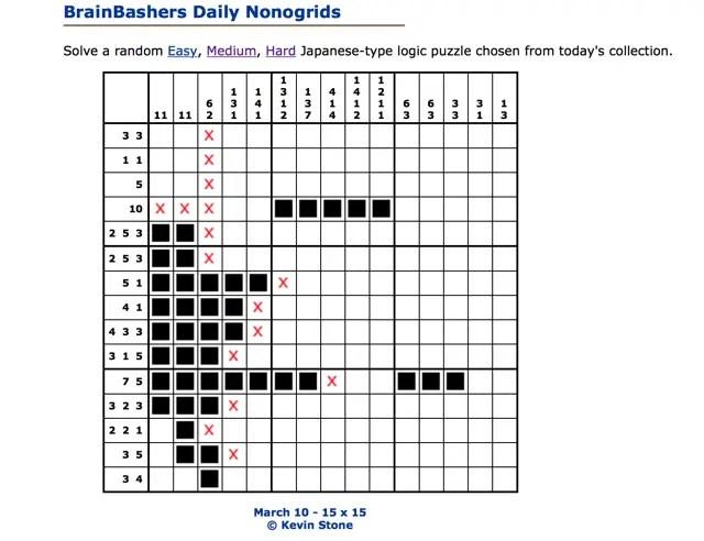 brainbashers-nonogrid