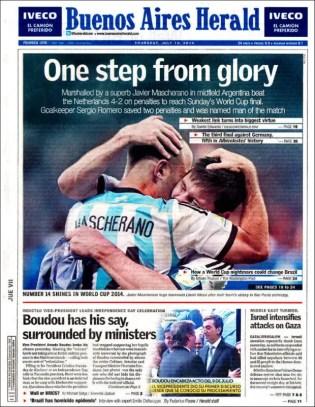 """""""One step from glory"""" (""""A un paso de la gloria"""")"""