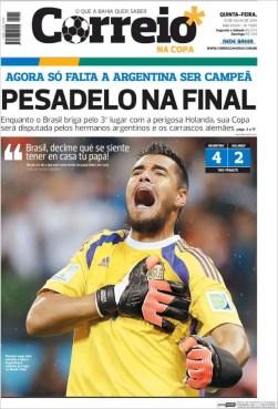 """""""Ahora solo falta que Argentina salga campeón. Pesadilla en la final"""""""