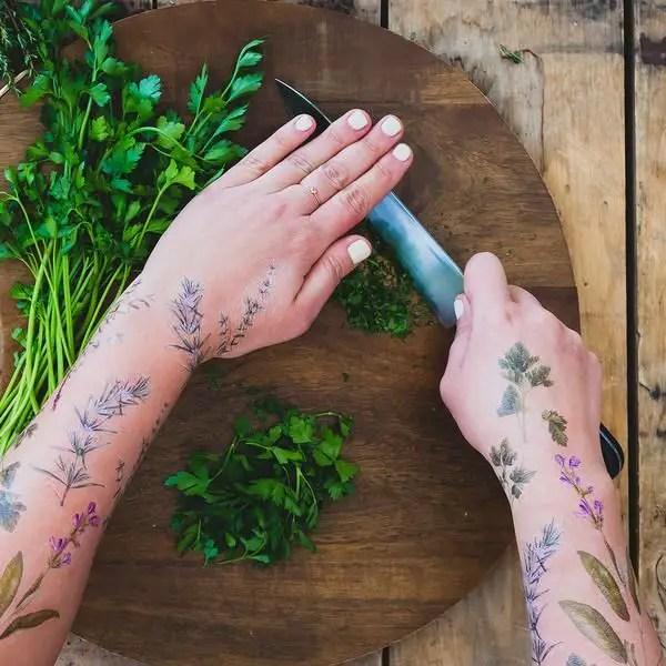 Lanzan Tatuajes Temporarios Perfumados Con Hierbas Periodismo Com - Opciones-de-tatuajes