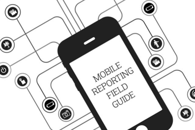 Mobile Reporting Field Guide, guía en iBook para el