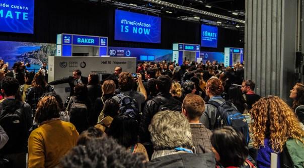 La COP25 reúne a las partes firmantes del Acuerdo de París. (Foto: Julio Batista)
