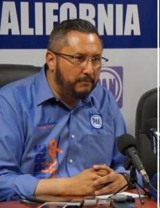 José Luis Ovando, presidente del PAN estatal.